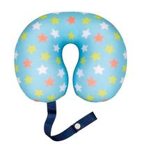 Almofada para pescoço rn infanti by fom estrelas -