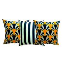 Almofada para sofa decorativa - Mult Ara Cheias Nó Futon Nozinho Cinema Decorativa