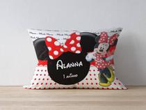 Almofada Personalizada  Minnie Vermelha - Blank art studio