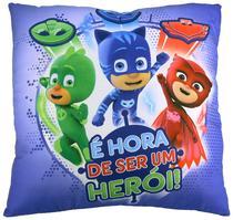 Almofada PjMasks Hora de ser Heroi 4592 - DTC -