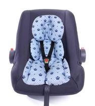 Almofada Redutor De Bebe Conforto Coroa Azul - Lika Baby