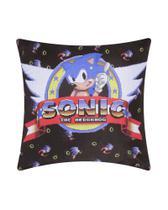 Almofada Sonic Poliester Sega -
