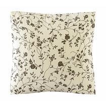 Almofada Sophie Voil Estampado Floral Delicado e Enchimento - Vilela Enxovais