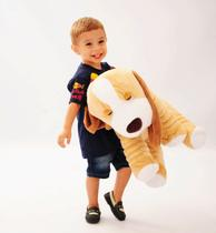 Almofada Travesseiro Cachorro 67 cm - Bicho Pelúcia