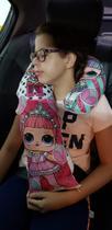Almofada Travesseiro Protetor Cinto Segurança Boneca L.O.L Infantil e Adulto - Maria Dos Reis