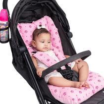 Almofada Universal Para Carrinho De Bebê MENINA - CLICK TUDO