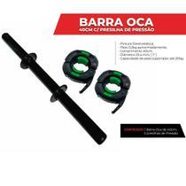 Alteres Academia Barra Oca 40cm c/ Presilha De Pressao - Tshoes