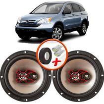 """Alto Falante Bravox Honda CRV até 2009 Dianteiro 6"""" B3X60X 100W RMS 4 Ohms Triaxial Par -"""