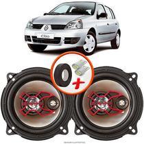 """Alto Falante Bravox Renault Clio Hatch 2003 A 2005 Dianteiro 5"""" B3X50X 100W RMS 4 Ohms Triaxial Par -"""