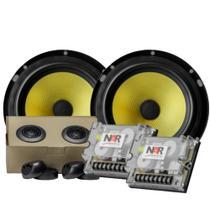 Alto falante Kit 2 vias 6 pol 60W RMS NAR 600-CS-3 Kevlar -