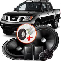 """Alto Falante Pionner Nissan Frontier Traseiro 2 Vias TS-C170BR 6"""" 120W RMS + Tweeters + Crossovers Par - Pioneer"""
