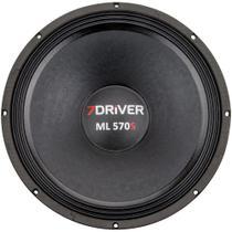 Alto Falante Seven Driver by Taramps 15 Polegadas ML 570S 4 ou 8 Ohms - 7Driver By Taramps