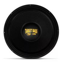 """Alto Falante SUBWOOFER 18"""" Eros E18 Target Bass 3.0k 1500w Rms 4 Ohms -"""