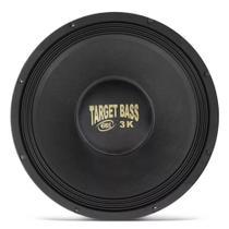 Alto Falante Subwoofer Eros E15 Target Bass 15 Pol 3.0k 1500W RMS 4 OHMS -