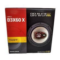 Alto Falante Triaxial Bravox 6 B3x60x 100w Rms Par -