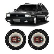 Alto Falante Volkswagen Parati 1991 a 1996 Bravox X 6 Polegadas 100W RMS 2 Portas Kit -