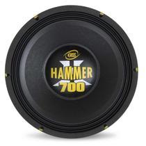 """Alto Falante Woofer 12"""" Eros E-12 Hammer 700 700W RMS 4 Ohms Bobina Simples -"""