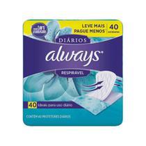 Always RespirÁVel Protetor DiÁRio C/40 -