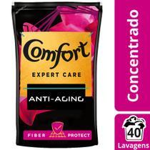 Amaciante Concentrado Comfort Expert Care Fiber Protect Refil 900ml -