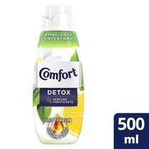 Amaciante de Roupa Comfort Concentrado Detox Intense 500ml -