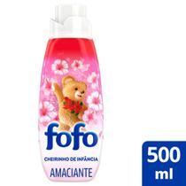 Amaciante de Roupa Concentrado Super Fofo Cheirinho de Infância 500ml -