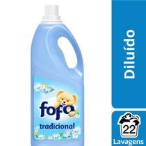 Amaciante De Roupa Diluído Tradicional Fofo Frasco 2L -