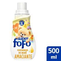 Amaciante de Roupa Fofo Concentrado Cheirinho de Bebê 500ml -