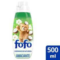Amaciante de Roupa Fofo Concentrado Super Cheirinho de Natureza 500ml -