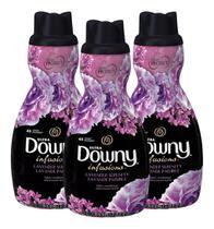 Amaciante Líquido Ultra Downy Lavender Serenity 1,21 L - 3un -