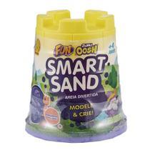 Amarelo Neon Smart Sand Areia Divertida - Fun 8425-8 -