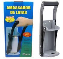 Amassador De Latas Grande Para Latas De Ate 475ml - Western