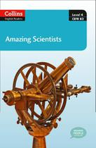 Amazing Scientists - Collins English Readers - Level 4 - Book With Downloadable Audio -