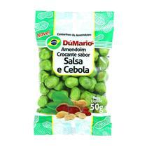 Amendoim Crocante Sabor Cebola Salsa 50 gramas - Amendoim dumario