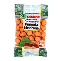 Amendoim Crocante Sabor Pimenta Mexicana 50 gramas - Amendoim dumario