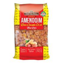 Amendoim Doce Crocante Pralinê 140g - Dacolônia -