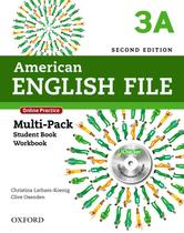 American english file 3a multipack - 2nd ed - Oxford university
