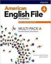 American english file 4a - multipack student book with workbook and online practice - third editio - Oxford