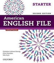 American English File Starter - Student Book - 02 Ed - Oxford