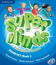American Super Minds 1 - Students Book With Dvd-rom - Cambridge