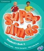 American Super Minds 3 - Students Book With Dvd-rom - Cambridge