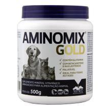 Aminomix gold 500 gr vetnil validade 02/21 -