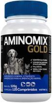 Aminomix Gold Para Cães Vetnil 120 Comprimidos -