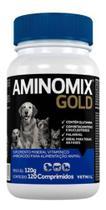 Aminomix Gold Vetnil Para Cães E Gatos 120 Comprimidos - Agropet Nutrimed