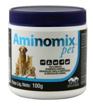 Aminomix Pet 100g Suplemento Vitamínico - Vetnil - Descrição marketplace -