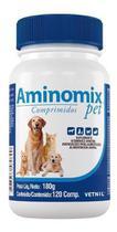 Aminomix Pet c/ 120 Comprimidos - Vetnil -