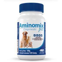 Aminomix Pet Comprimidos - 120 comprimidos - Vetnil -