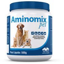 Aminomix Pet Pó 500g - Vetnil -