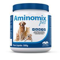 Aminomix Pet Suplemento P/ Animais 500g - Vetnil