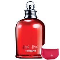 Amor Amor Cacharel EDT - Perfume Feminino 50ml+Ncessaire Pink -