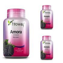 Amora 500mg ( Menopausa ) - 3x 60 Cáps - Marca